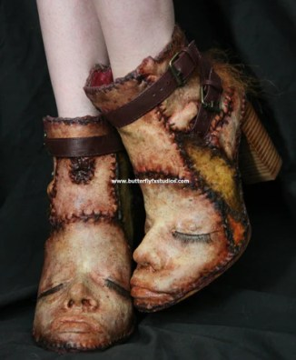 Ed Gein Inspired Ankle Boots