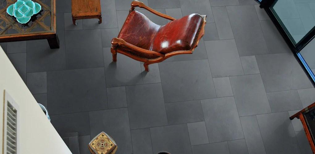 slate tile collection montauk blue 24 x24