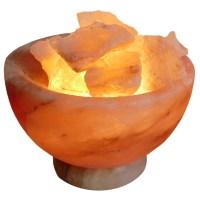 A Natural Himalayan Salt Lamp with Crystal Base   Sydney ...