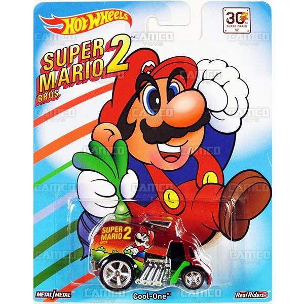 COOL ONE (Super Mario Bros. 2) - 2015 Hot Wheels Pop Culture F Case (SUPER MARIO) - Camco Toys