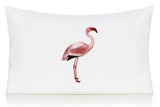 pink flamingo pillow case kitschattic