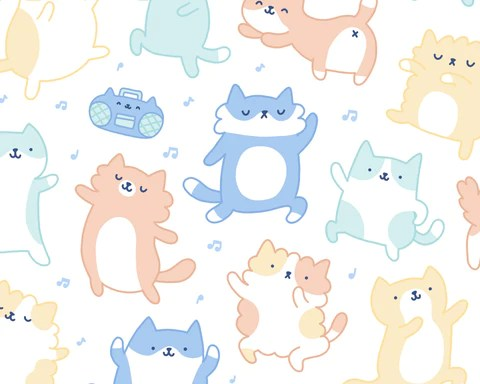 kitty dance off kawaii