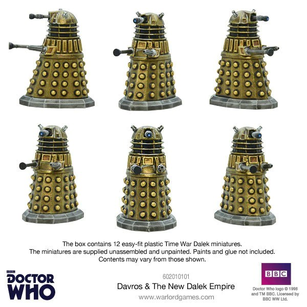 Davros  The New Dalek Empire  Doctor Who Into the Time