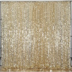 Poly Banquet Chair Covers Wheelchair Jimmy Meme 20ft Champagne Big Payette Sequin Curtain Panel Backdrop Wedding Party Photography Background ...