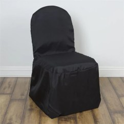 Large Banquet Chair Covers Chiavari Rental Chairs Polyester Black Efavormart