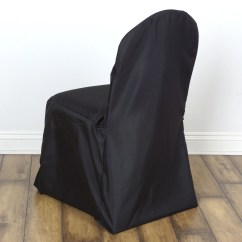 Low Cost Chair Covers The Stadium Company Polyester Banquet Black Efavormart