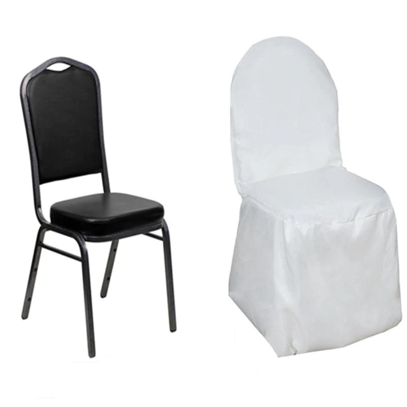 efavormart wedding chair covers living xl chairs polyester banquet - white |