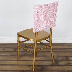 Chair Covers Rose Gold Home Depot Rail 16 Quot Rosette Chiavari Caps Cover Blush