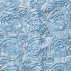 Light Blue Chair Covers Swing Revit 16 Quot Rosette Chiavari Caps Cover For