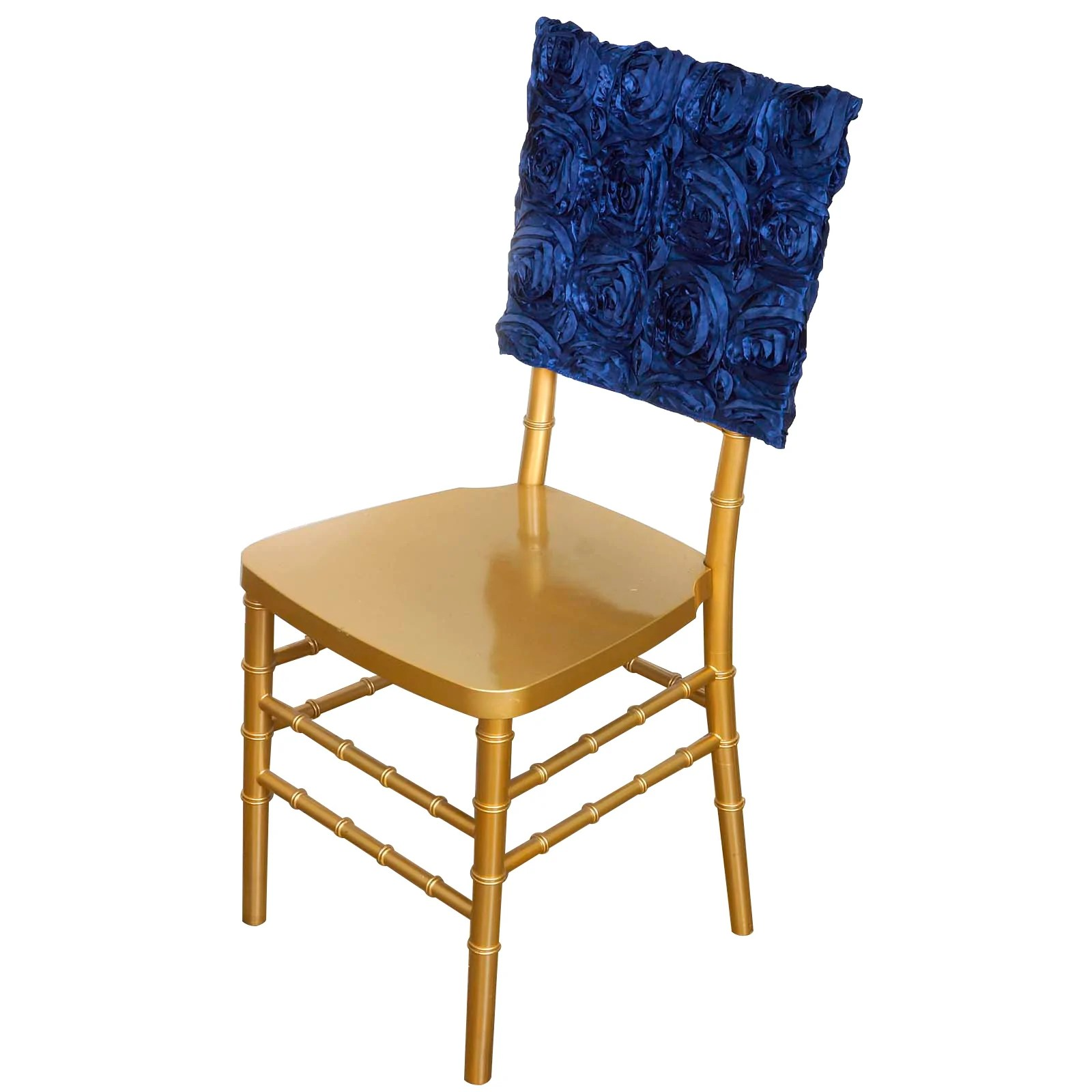 green chair covers for sale rooms to go recliner chairs 16 quot navy blue rosette chiavari caps cover