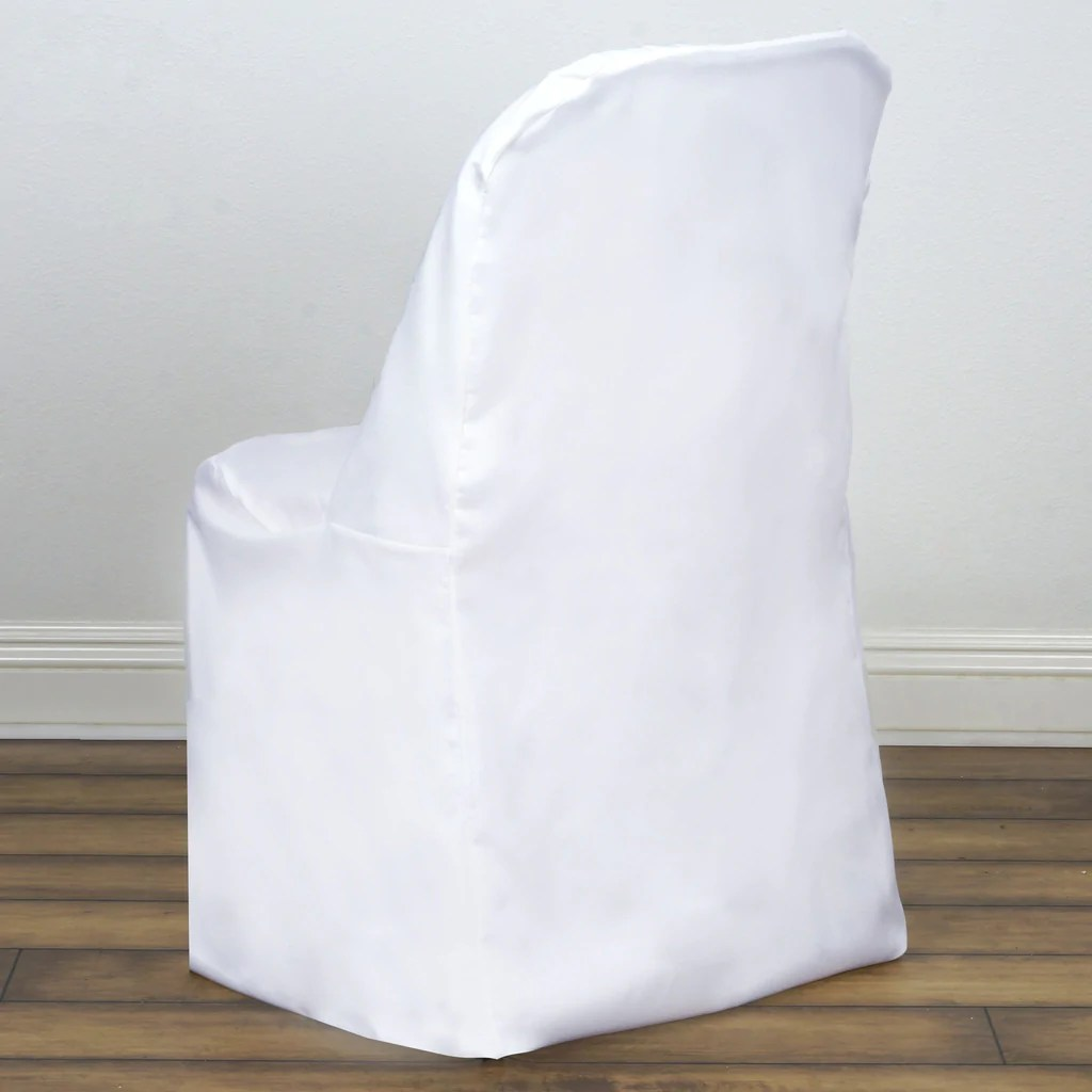covers for folding chairs menards lawn chair white cover flat efavormart