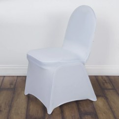 White Ruched Chair Covers Pink Vanity Chairs Premium Milan Spandex Banquet