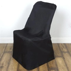Black Lifetime Chair Covers Patio Hanging Polyester Folding Efavormart Fits Over Style Chairs Cover