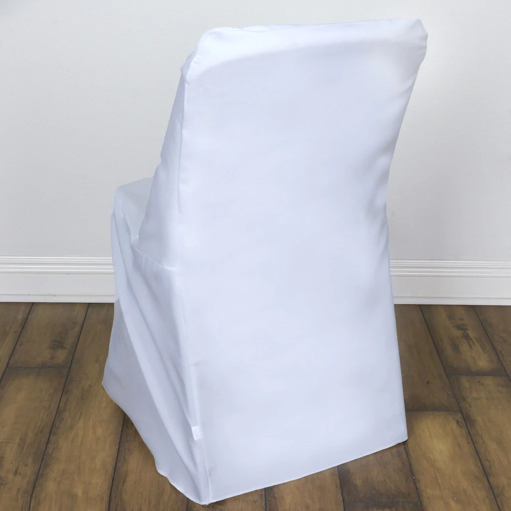 folding chair leg covers super bungee white lifetime cover efavormart
