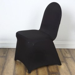 Black Chair Covers For Folding Chairs Swivel Cushions Madrid Banquet Efavormart
