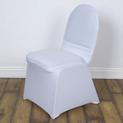 Efavormart Wedding Chair Covers Kids Lawn White Madrid Banquet