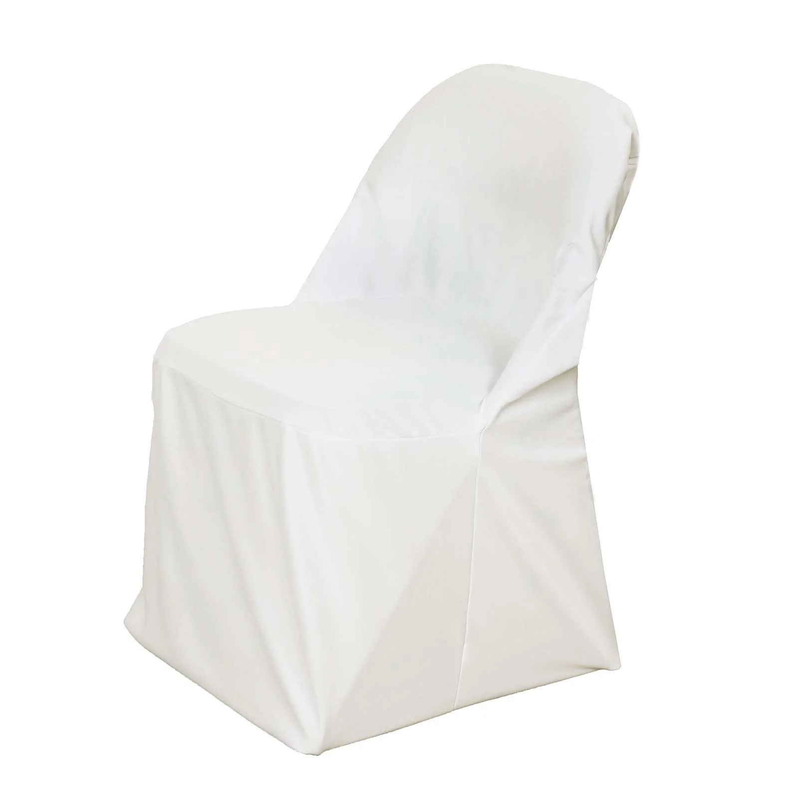 ivory chair covers spandex sofa for sale premium scuba folding