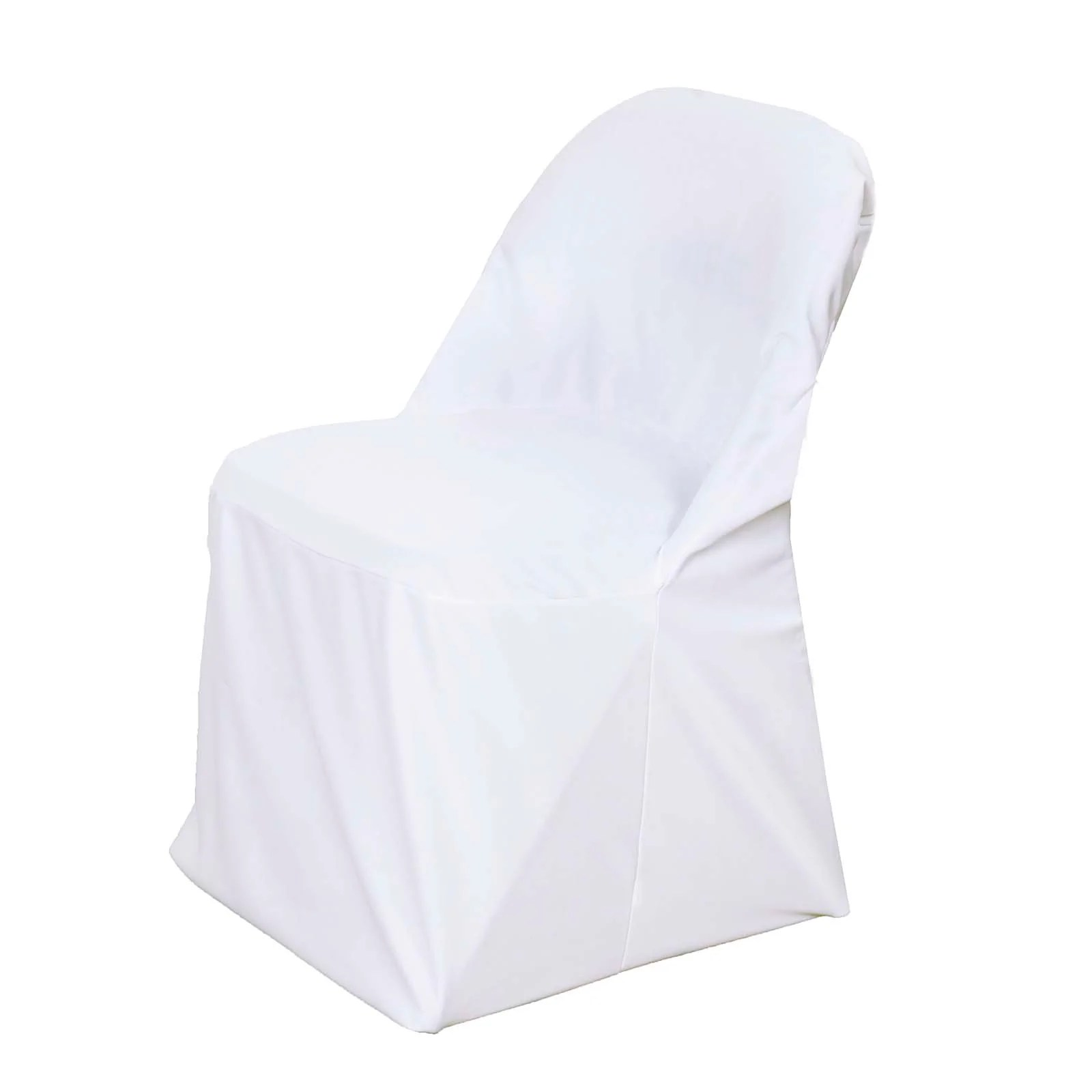 chair covers for white folding chairs office back support premium spandex scuba