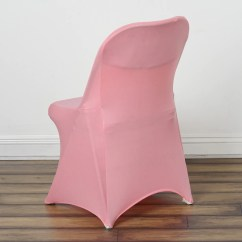 Spandex Chair Covers For Lifetime Folding Chairs Rocking Couch Stretch Cover Rose Quartz Efavormart