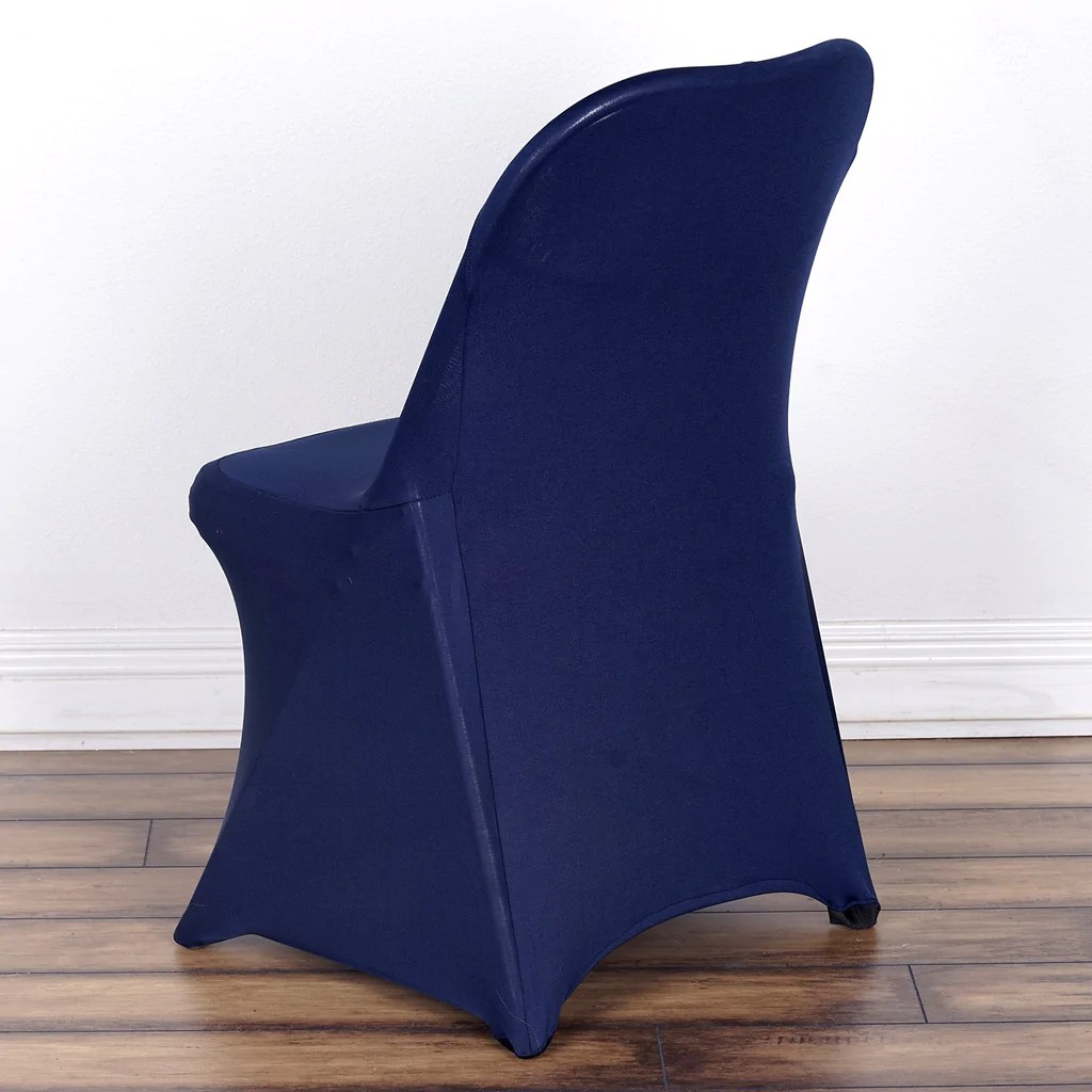 dunelm stretch chair covers rattan swivel cushions spandex folding cover navy blue efavormart