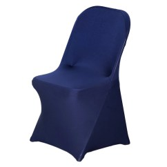Spandex Folding Chair Covers For Sale Cup Holder Zero Gravity Stretch Cover Navy Blue Efavormart