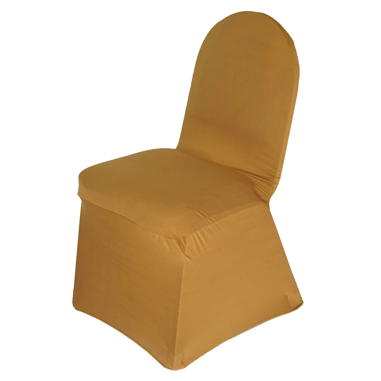 glitter chair covers for sale dining chairs at walmart gold spandex stretch banquet cover with metallic