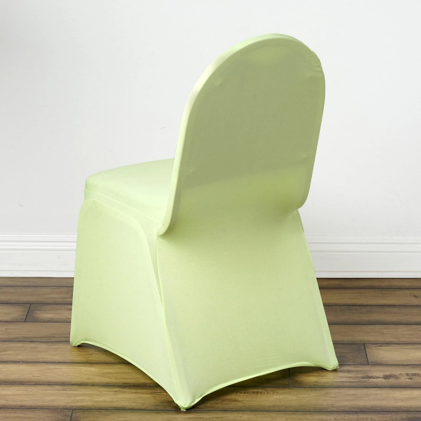 green banquet chair covers antique cast iron garden table and chairs spandex stretch cover tea efavormart