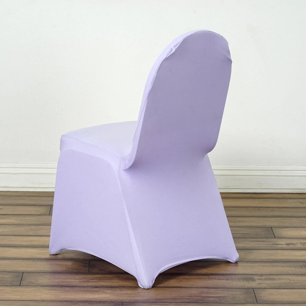 efavormart wedding chair covers bulk disposable lavender spandex cover