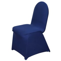 Blue Spandex Chair Covers Folding Z Bed Single Navy Premium Banquet Stretch Cover Efavormart An Error Occurred