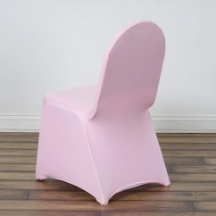 Will Folding Chair Covers Fit Banquet Chairs Best Hunting Spandex Stretch Cover Pink Efavormart