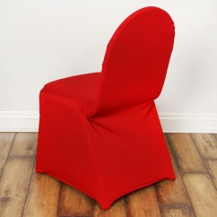 Wedding Chair Covers Chelmsford Desk Sale Spandex Stretch Banquet Cover Red Efavormart