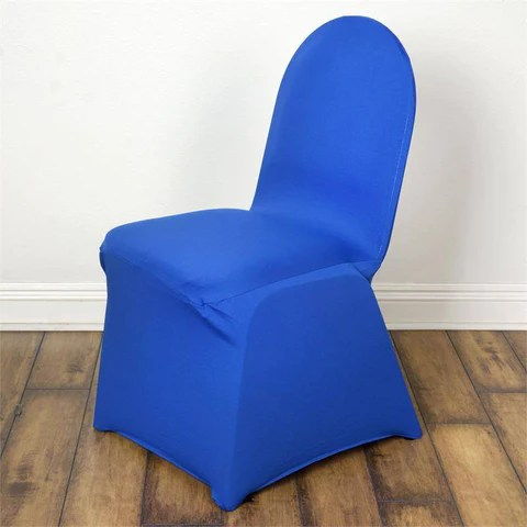 blue spandex chair covers modern outdoor chairs royal premium banquet stretch cover efavormart