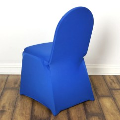 Royal Blue Chair Covers Lift Rental Spandex Cover Efavormart