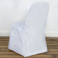 Ivory Wedding Chair Covers For Sale Brisbane Hire Polyester Square Top Banquet White Efavormart