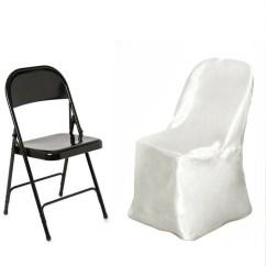 Chair Covers Ivory Barrel Back Dining Restoration Hardware Satin Folding Efavormart