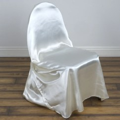 Efavormart Wedding Chair Covers Custom Rocking Chairs Texas Ivory Universal Satin