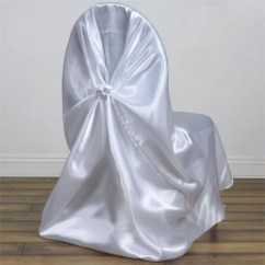 Bulk Satin Chair Covers Old High Repurposed Wholesale Efavormart White Universal