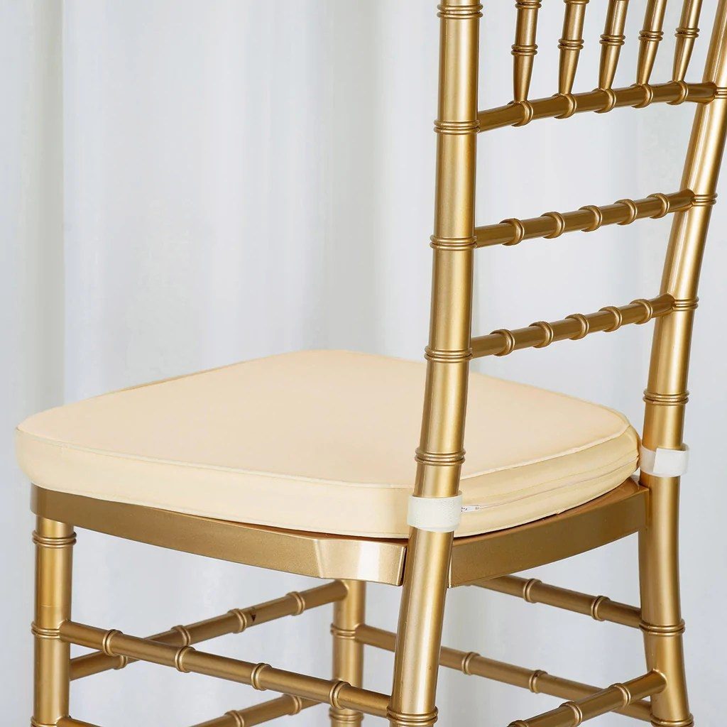 chiavari chairs wholesale chair gym total body workout reviews 2 quot thick ivory cushion for beechwood