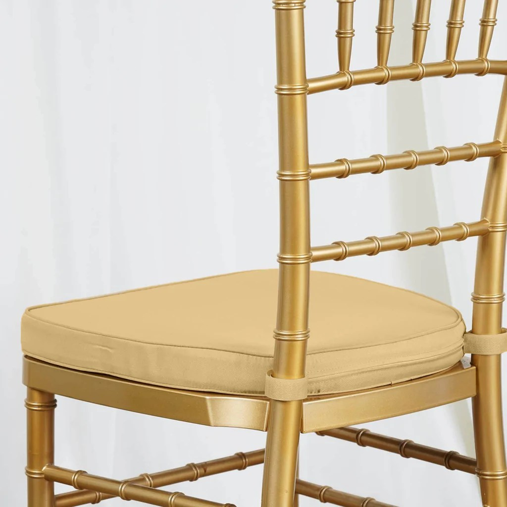 chiavari chairs wholesale oslo posture chair nz 2 quot thick gold cushion for beechwood