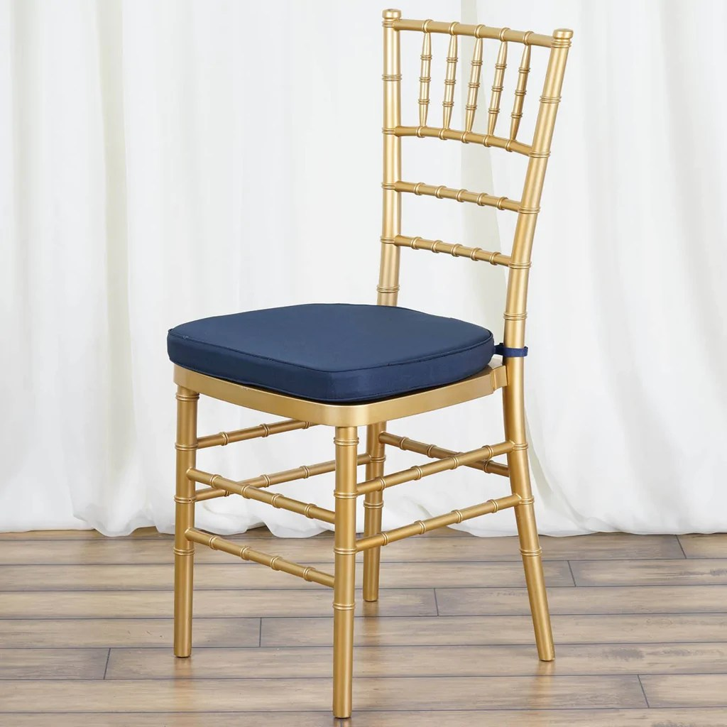 wholesale chiavari chairs for sale mirrored dining table and 2 quot thick cushion beechwood navy blue