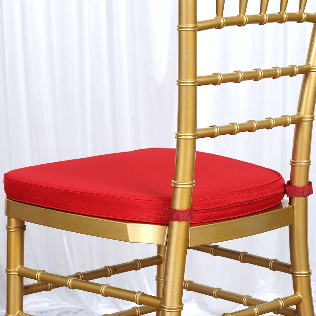 wholesale chiavari chairs for sale high that attach to tables 2 quot thick red cushion beechwood