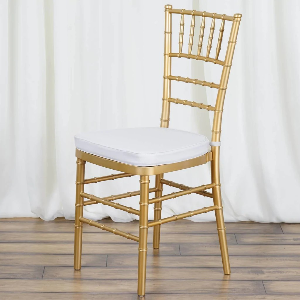 silver dining chair cushions butterfly cover pattern beechwood chiavari cushion efavormart