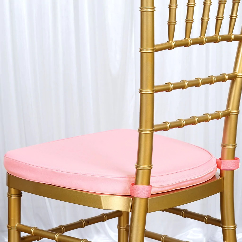 chiavari chairs wholesale antique wooden church 2 quot thick blush pink cushion for