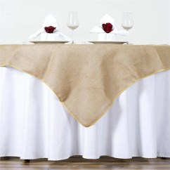 Efavormart Wedding Chair Covers Desk Toddler Chambury Casa Fine Rustic Burlap Tablecloth 60