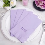 Personalized Wedding Napkins Dinner Napkins Wedding Favors Efavormart