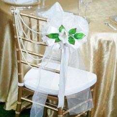 Advanced Church Chairs Wheelchair Mat 24 Quot Satin Organza Ribbon With Calla Lilies On Green Leaves