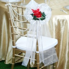 Advanced Church Chairs Bulk Order Office 24 Quot Satin Edged Organza Ribbon Victorian Rose With Silk