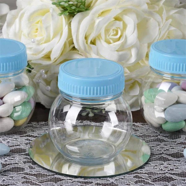6 OZ Wholesale Plastic Clear Containers Candy Beverage