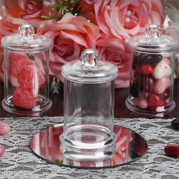 3 OZ Wholesale Plastic Clear Containers Candy Beverage
