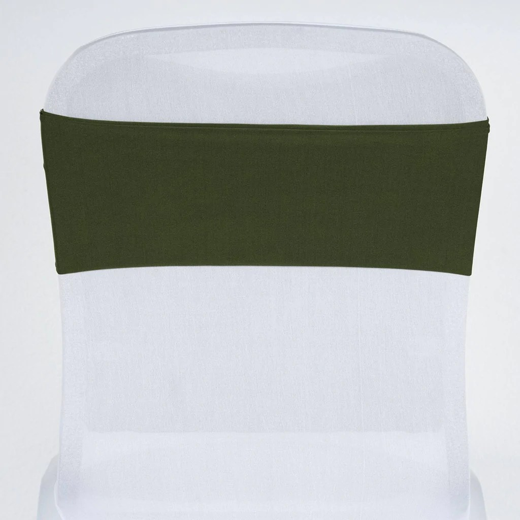 Spandex Chair Sashes Sexy Spandex Chair Sash Willow Green Efavormart